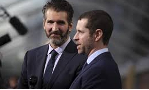"David Benioff (L) and Dan Weiss, creators and executive producers, arrive for the season premiere of HBO's ""Game of Thrones"" in San Francisco, California March 23, 2015.  Robert Galbraith"