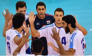 U19 Volleyball Team celebrating – Egypt Sports Network Facebook Page