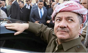 Massoud Barzani, whose term as Kurdistan President ended on August 20, 2015 but refused to step down and remains unofficially in office - AFP