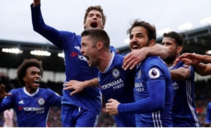 Chelsea players, Reuters