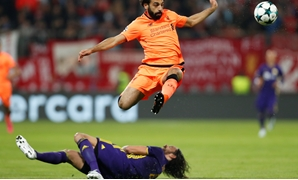 Mohamed Salah – Press image courtesy Reuters