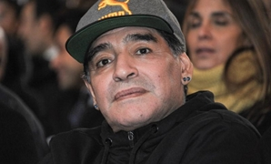 Argentinian soccer legend Diego Armando Maradona attends the Italian soccer Hall of Fame 2017 event in Florence, Italy, January 17, 2017. REUTERS
