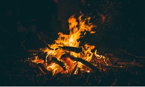 Bonfire (photo by Pixabay)