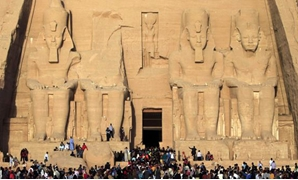 Abu Simbel temple in Egypt (Photo: Reuters )