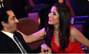 Mona Zaki and Ahmed Helmy-File Photo