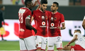 Al Ahly players, File photo from superkora.football