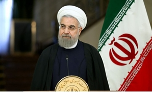 Iranian President Hassan Rouhani - Press Photo