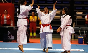 Egyptian female karate team – Press image courtesy World Karate Federation's official website