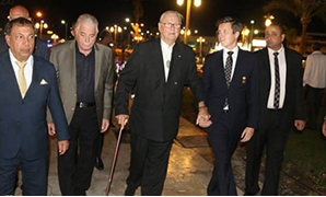 FILE : Prince Henrik of Denmark, Queen Margrethe's husband, visits Sharm el-Sheikh