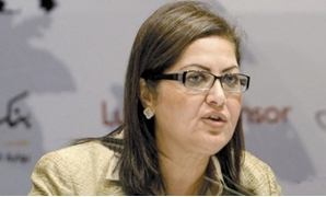 FILE - Minister of Planning and Administrative Reform Hala el Saeed