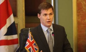 File - British Ambassador to Egypt John Casson