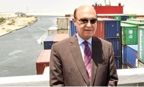 FILE - Head of the Suez Canal Authority and the Suez Canal Economic Zone (SCZone) Mohab Mamesh