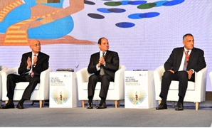 File - President Sisi said in late September Egyptians would soon bear fruits of the economic reform program