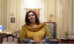 Shahida Shah, wife of the Pakistani ambassador in Egypt, at her house in Giza. Photo by Ahmed Hussein/Egypt Today