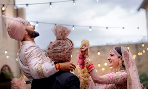 Kohli and Sharma have generated the same sort of excitement and coverage in India as Britain's Prince Harry and fiance Meghan Markle have in the West - AFP/Yash Raj Films/ Handout