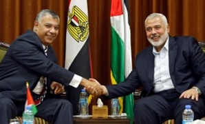 FILE – Head of the political bureau of Hamas Ismail Haniyeh