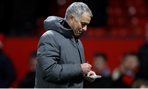 Premier League - Manchester United vs Manchester City - Old Trafford, Manchester, Britain - December 10, 2017 Manchester United manager Jose Mourinho at the end of the match Action Images via Reuters/Carl Recine