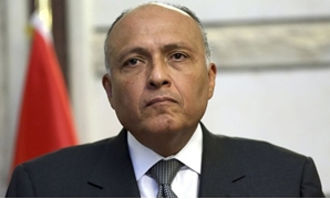 FILE – Egypt's Foreign Minister Sameh Shoukry