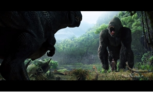 Screencap from the movie's official trailer showing King Kong, December 14, 2017 – Peter Jackson/Youtube Channel