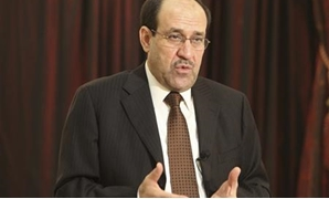 Iraq's Prime Minister Nuri al-Maliki speaks during an interview with Reuters in Baghdad, August 6, 2010. Al-Maliki said in an interview with Reuters he was still determined to serve a second term despite an impasse with his allies in talks to form a coali