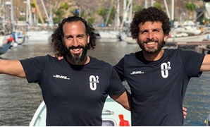 Omar Samra and Omar Nour - Courtesy of Team 02