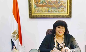 The new Minister of Culture Enas Abdel Dayem. Photo courtesy of the ministry of culture official page on Facebook