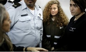 AFP | An Israeli military judge has ordered 16-year-old Palestinian Ahed Tamimi, seen here at a previous hearing on January 15, 2018, held in custody until trial