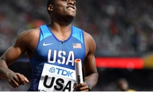 AFP/File | US athlete Christian Coleman broke the 60 meter indoor world record at the Clemson Invitational track meet crossing the line in 6.37 seconds to surpass the previous record of 6.39