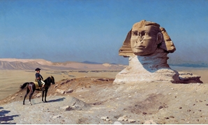 A Painting of Napoleon Bonaparte before the Sphinx – Photo courtesy of Wikipedia