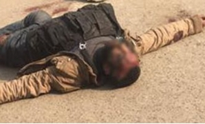 Helwan church attacker was shot down after he opened fire at police personnel and civilians – Still of a video circulating on social media