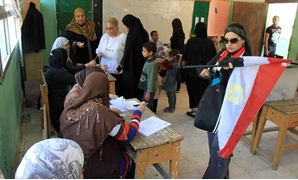 Voters cast their ballots in a polling station during the Egyptian presidential election, May 28, 2014./Egypt Today, Hossam Atef