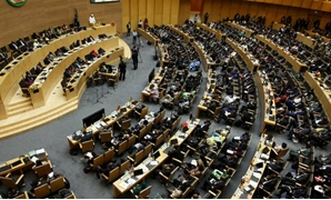 Member states of the African Union in session at the union's headquarters in Addis Ababa, Ethiopia. Tiksa Negeri/Reuters