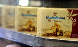 Manchego cheese on display at a wholesale market in Mexico City - AFP / AFP / by Laurence BOUTREUX