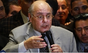 Chairperson of Al-Ghad Party Moussa Mostafa Moussa in a press conference on Monday, 29 January 2018 - Egypt Today/Hussein Tallal