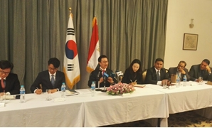 Newly appointed South Korean Ambassador to Egypt Yoon Yeo-cheol - Press photo
