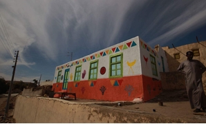 Houses painted by Mashrou El Saada – Official Facebook Page