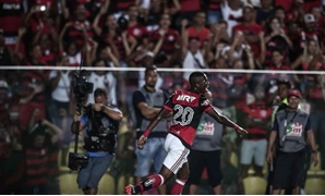 Vinicius Jr. in one of Flamengo's matches – Courtesy of Vinicius Jr official account on Twitter