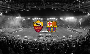 Barcelona faces Roma in the CL Quarter final – Courtesy of AS Roma official twitter account