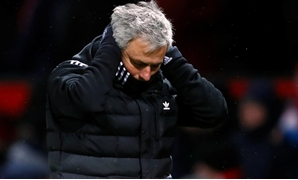 Soccer Football - FA Cup Quarter Final - Manchester United vs Brighton & Hove Albion - Old Trafford, Manchester, Britain - March 17, 2018 Manchester United manager Jose Mourinho Action Images via Reuters/Jason Cairnduff
