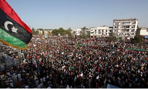 Demonstration in Bayda, Libya - CC via wikimedia