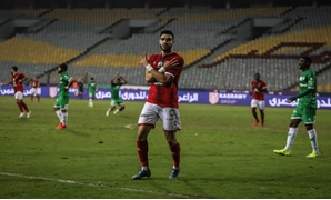 Al-Ahly striker Walid Azarou – Press image courtesy of Al Ahly official website