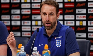 November 13, 2017 England manager Gareth Southgate during the press conference Action Images via Reuters/John Sibley