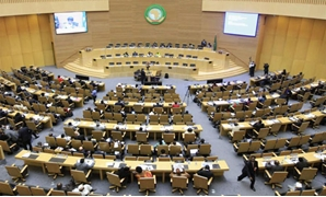 A general view shows the opening session of Heads of States and Government of the African Union on the case of African relationship with the International Criminal Court (ICC) in Ethiopia's capital Addis Ababa, October 11, 2013 – Reuters