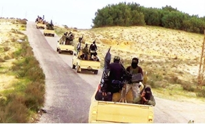 Islamic State-affiliated Sinai Province terrorists in North Sinai. (photo credit: WIKIMEDIA COMMONS/ARAB MEDIA)