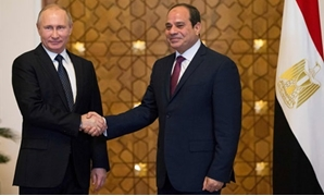 Sisi and Putin on November 19, 2015, Egypt and Russia signed an initial agreement under which Russia will build and finance Egypt's first nuclear power plant in the city of Dabaa – Press photo