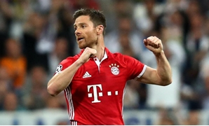 Football Soccer - Real Madrid v Bayern Munich - UEFA Champions League Quarter Final Second Leg - Estadio Santiago Bernabeu, Madrid, Spain - 18/4/17 Bayern Munich's Xabi Alonso Reuters / Michael Dalder Livepic