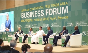 Through the Forum in Kigali that witnessed the signing of CFTA - Photo courtesy of African Union Twitter Account