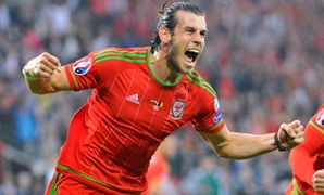 Wales v Belgium - UEFA Euro 2016 Qualifying Group B - Cardiff City Stadium, Cardiff, Wales - 12/6/15 Gareth Bale celebrates after scoring the first goal for Wales Reuters / Rebecca Naden