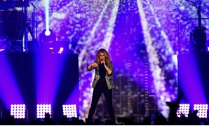Canadian singer Celine Dion, seen here performing in Paris July 4, 2017, has cancelled a series of Las Vegas concerts to have surgery for an ear condition.