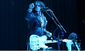 "Singer Jack White has released his first album in four years, ""Boarding House Reach"""